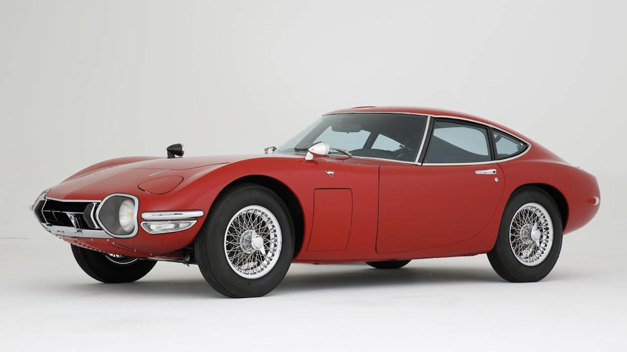rare 1968 toyota 2000gt up for auction news. Black Bedroom Furniture Sets. Home Design Ideas