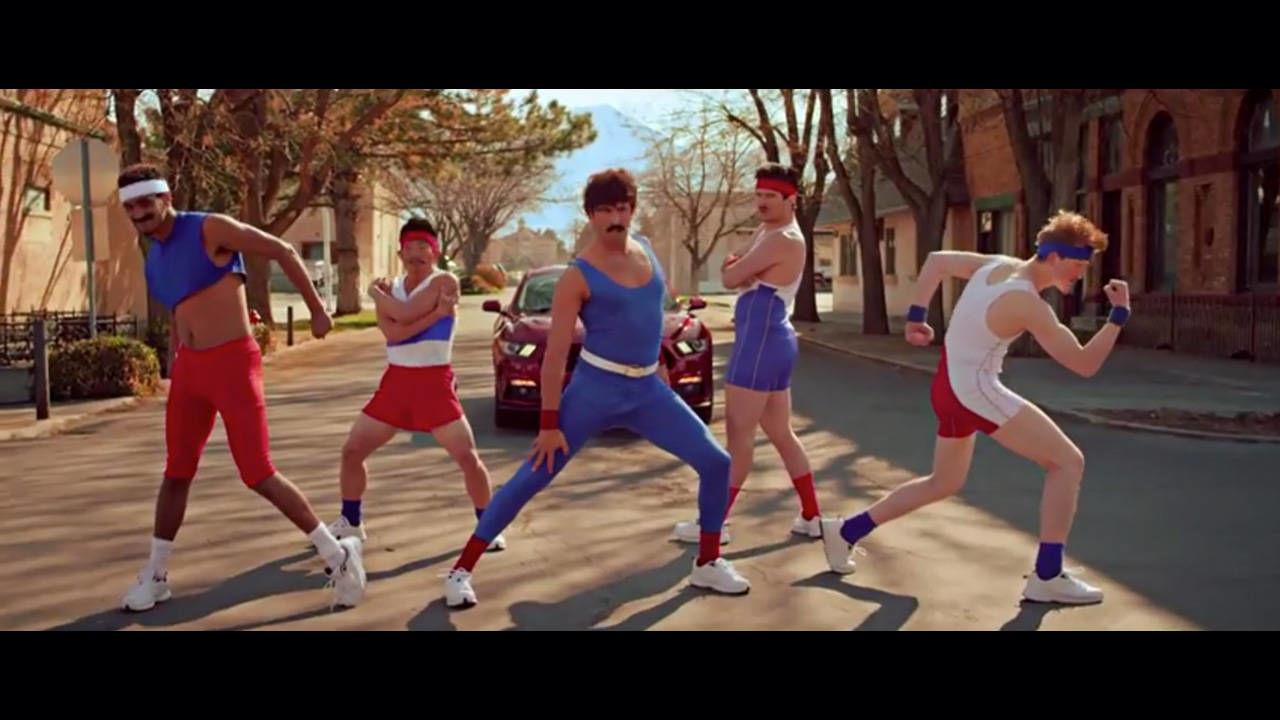 2015 Mustang Incites 1980s Style Aerobics Battle Video