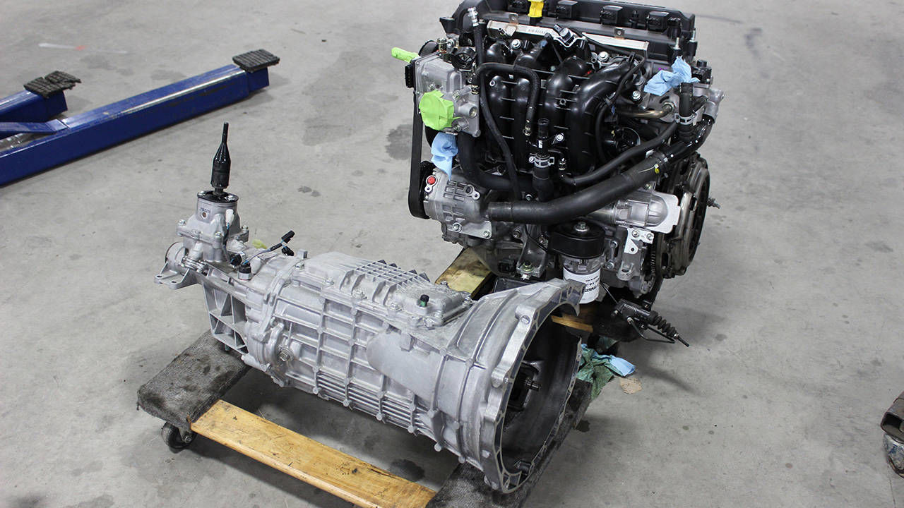 Build Miata Engine