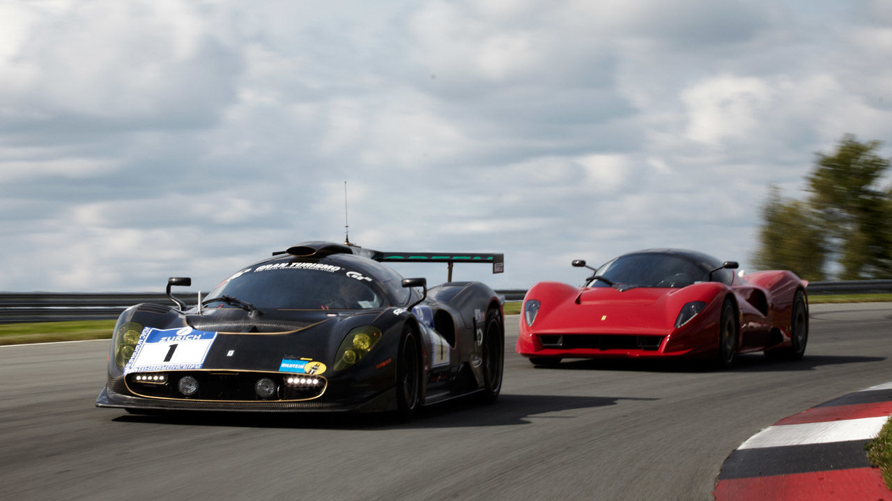 Exclusive Drive Ferrari P4 5 By Pininfarina And P4 5