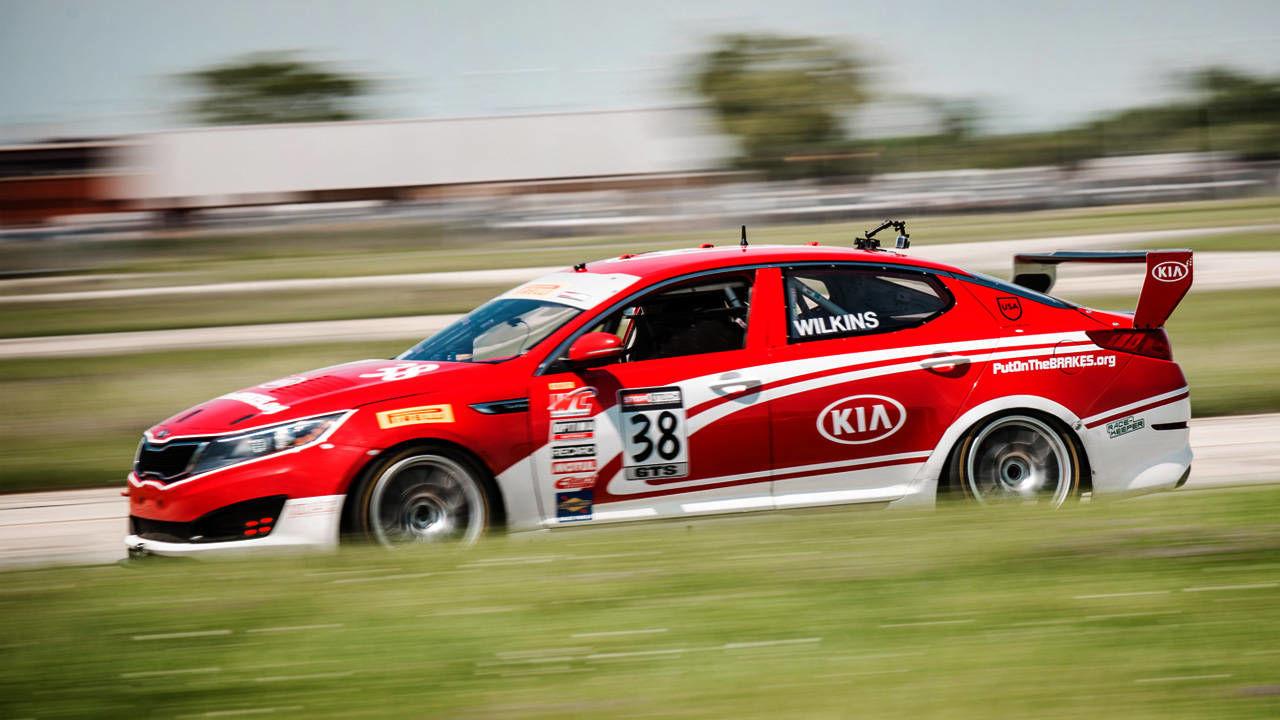 Kia Optima Gts Race Car