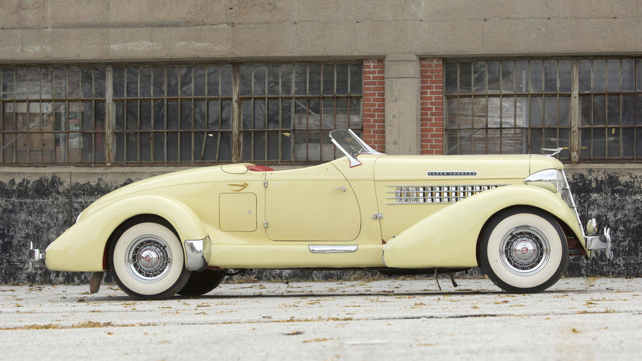 Shopping With Colin: 1935 Auburn 851 Boattail Speedster
