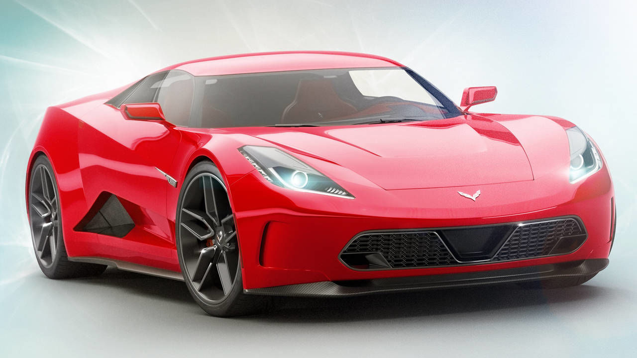 Mid Engine Corvette 2018 Corvette C8 Rumors