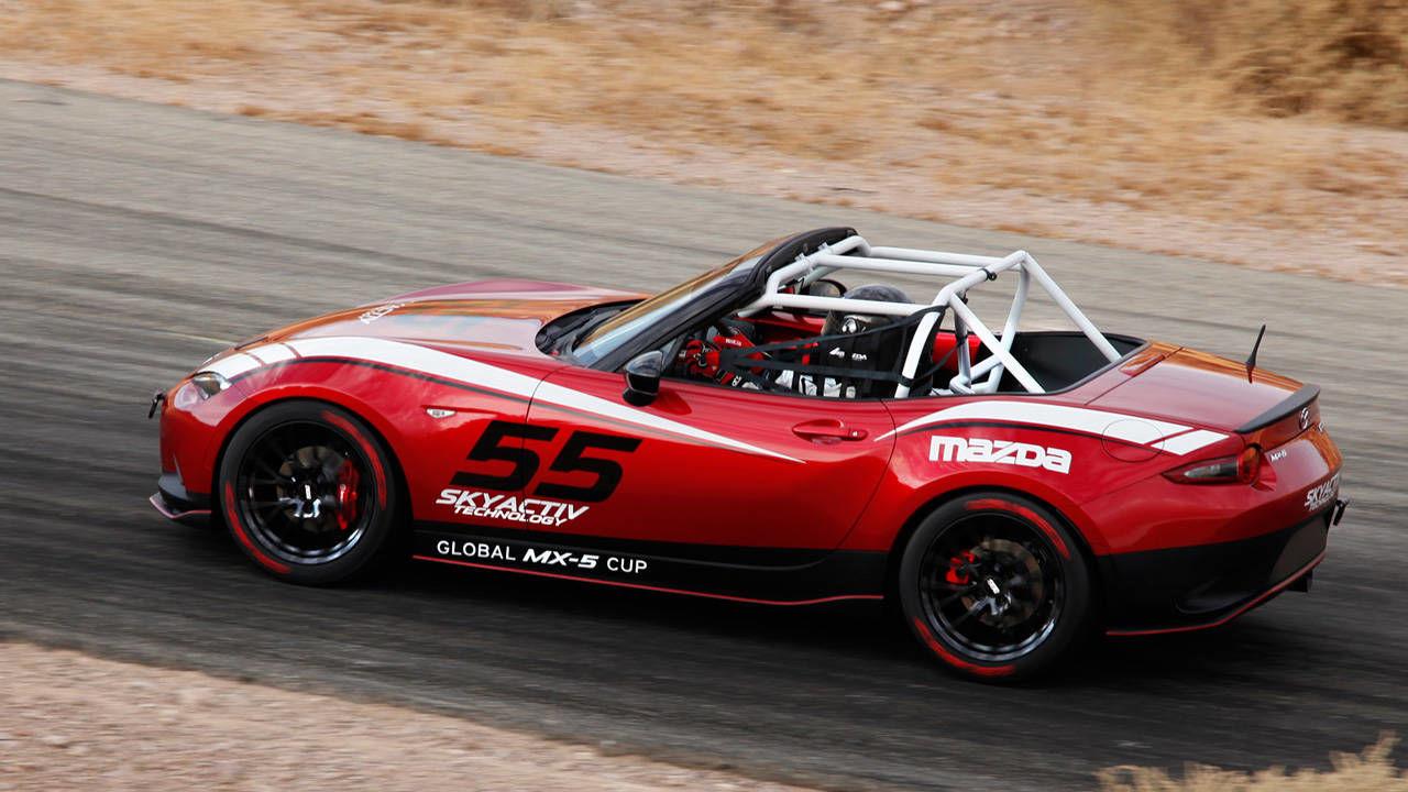 The 2016 Mazda Mx 5 Miata Cup Car Revealed At Sema