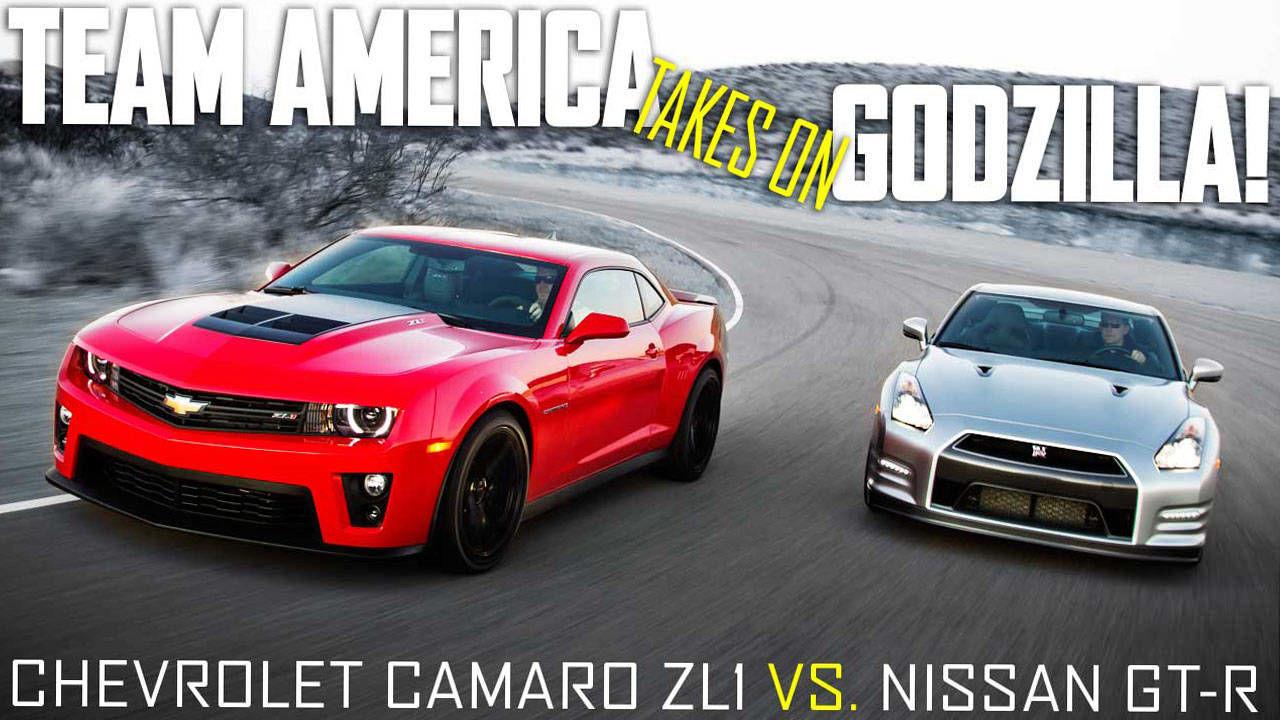 2012 Chevrolet Camaro Zl1 Vs 2013 Nissan Gt R Premium