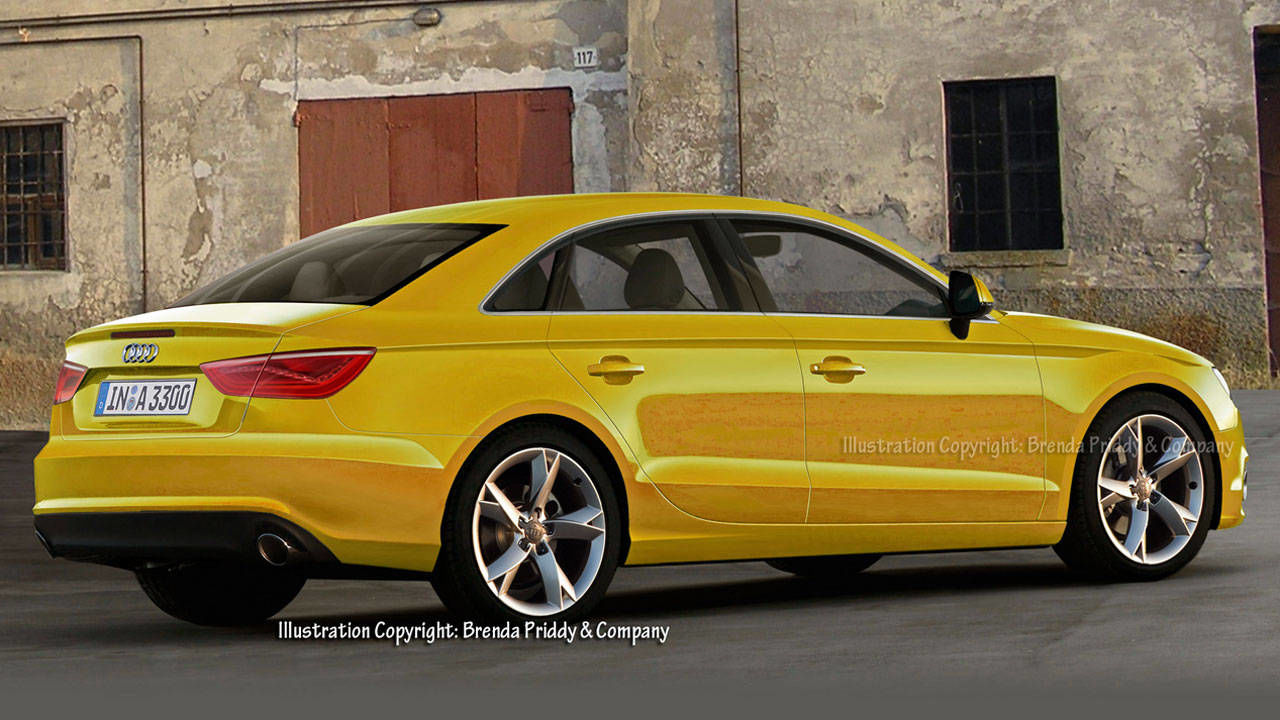 2014 audi a3 sedan audi a3 coming to the u s next year. Black Bedroom Furniture Sets. Home Design Ideas