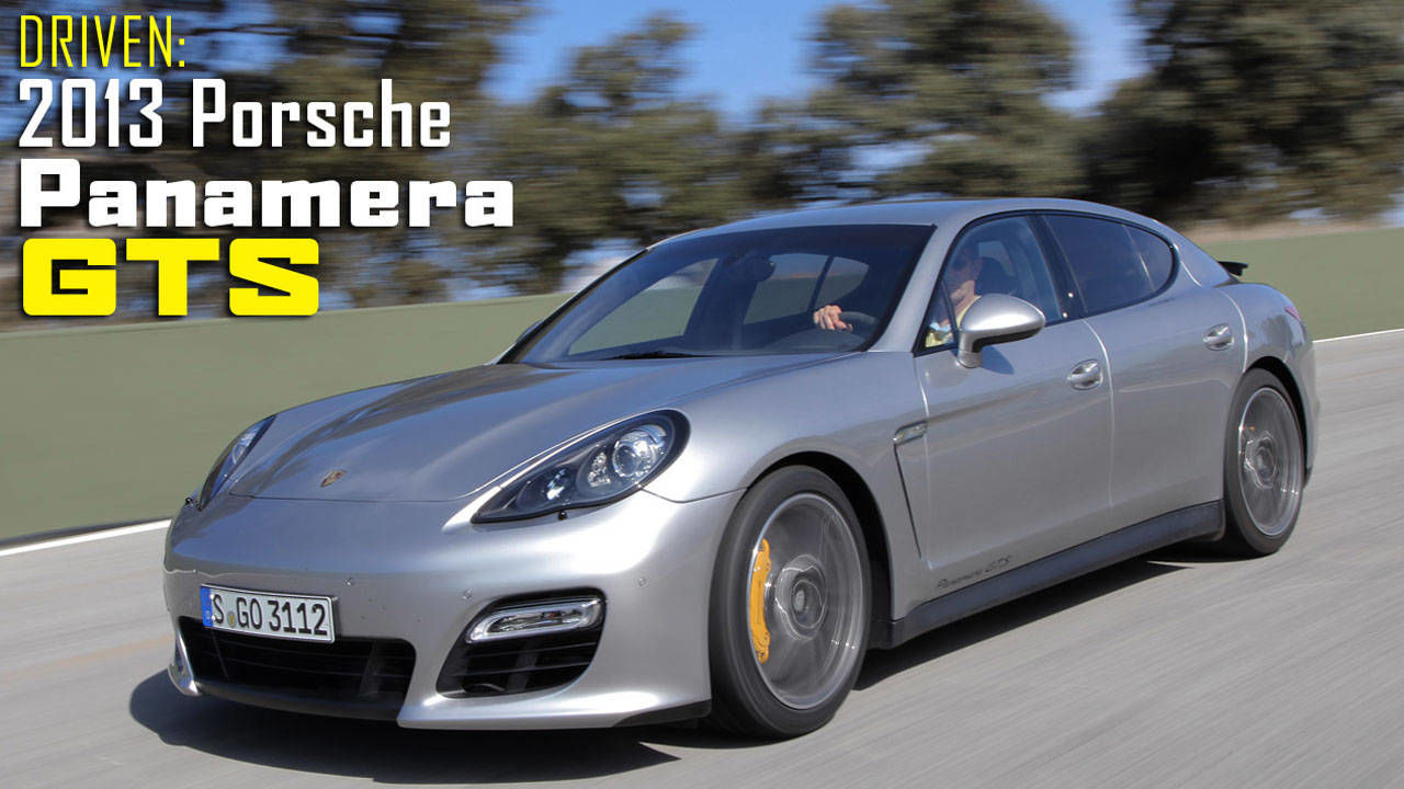 2013 porsche panamera gts review with price specs and. Black Bedroom Furniture Sets. Home Design Ideas