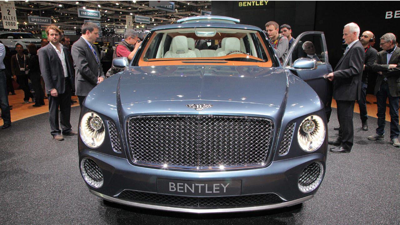 Bentley Exp 9 F Concept Bentley Suv Fastest Suv Ever