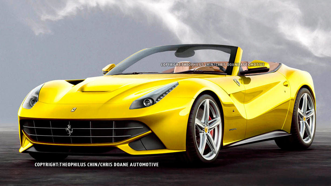 2014 ferrari f12berlinetta spyder first photos and news roadandtrackcom - Ferrari 2014 Yellow