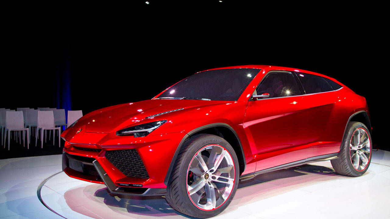 Video Lamborghini Urus Concept – Exclusive Lambo SUV Video – RoadandTrack.com