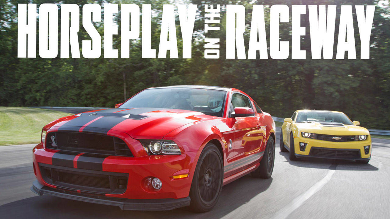 2012 Chevrolet Camaro Zl1 Vs 2013 Ford Mustang Shelby Gt500