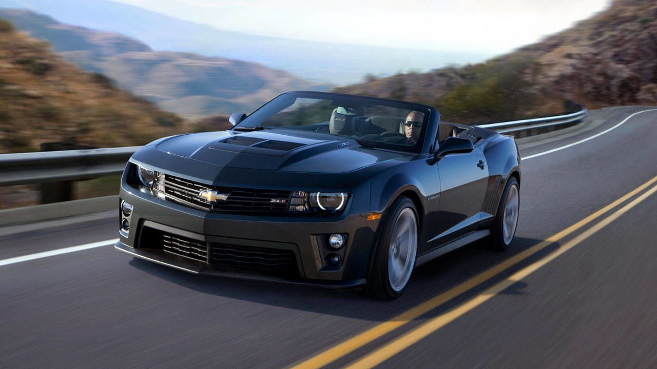 2013 Chevrolet Camaro Zl1 Convertible Review Photos Spec
