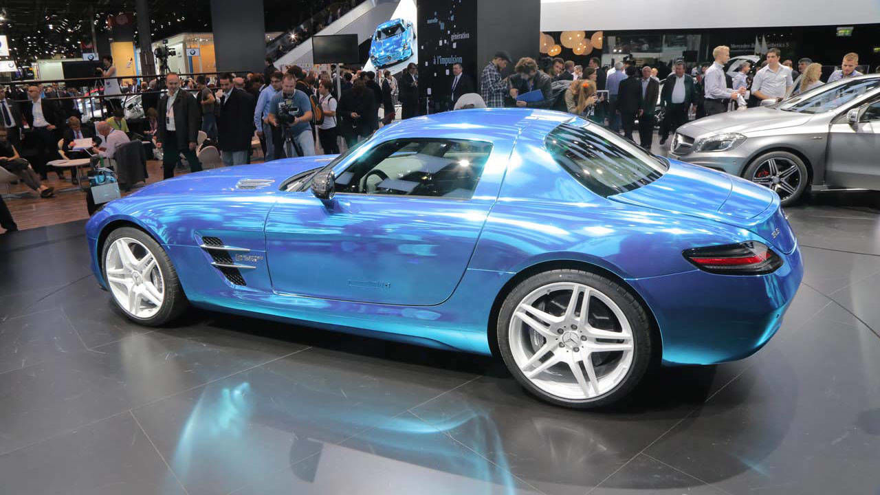 Mercedes benz sls amg coupe electric drive photos and news for Mercedes benz sls amg electric drive price