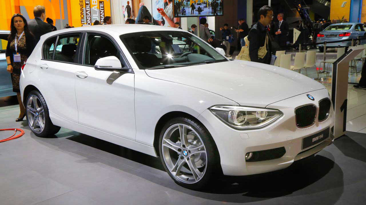 2014 bmw 1 series 3 door and 5 door hatchbacks 2012 paris auto show. Black Bedroom Furniture Sets. Home Design Ideas