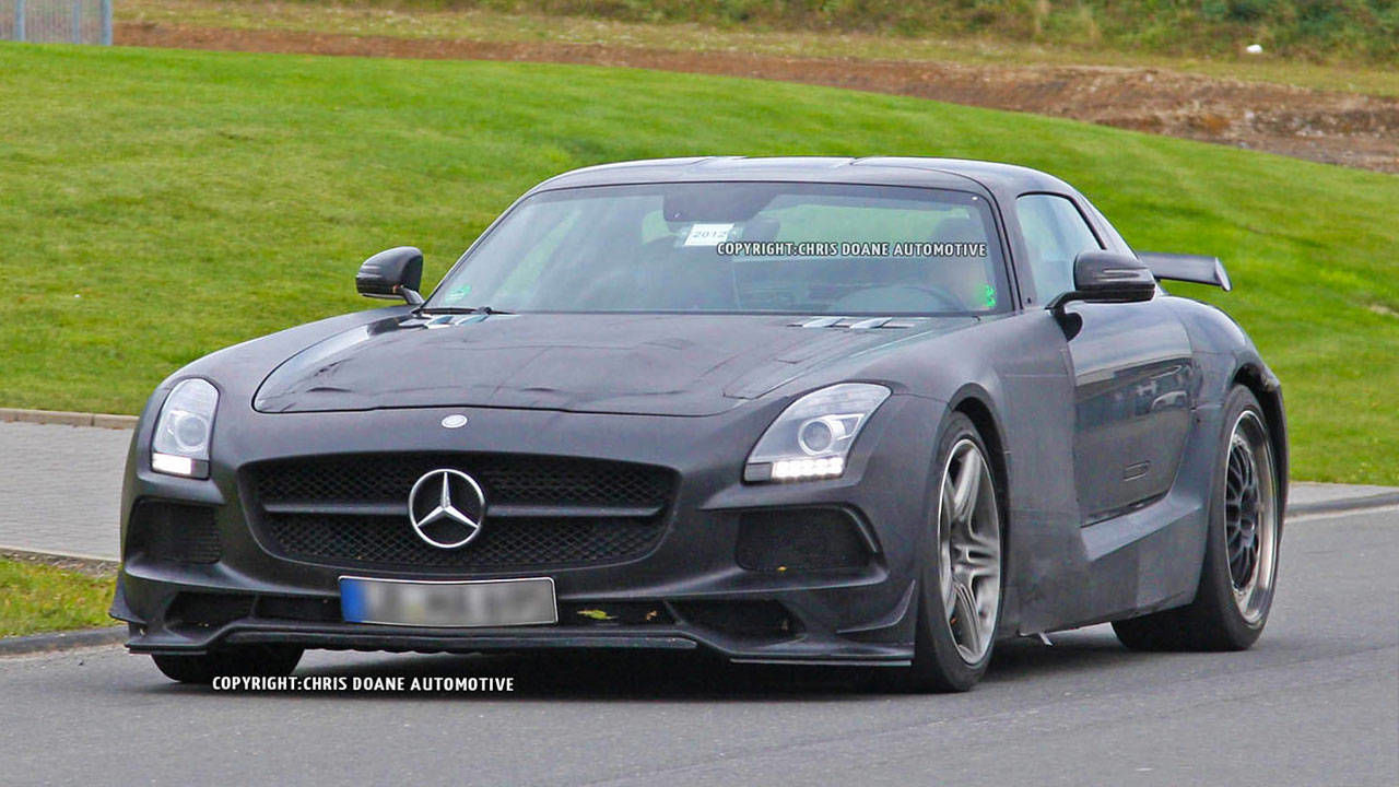 2013 mercedes benz sls amg black series photos and news 600 horsepower expected in new black series roadandtrackcom - 2015 Mercedes Benz Sls Amg Black Series