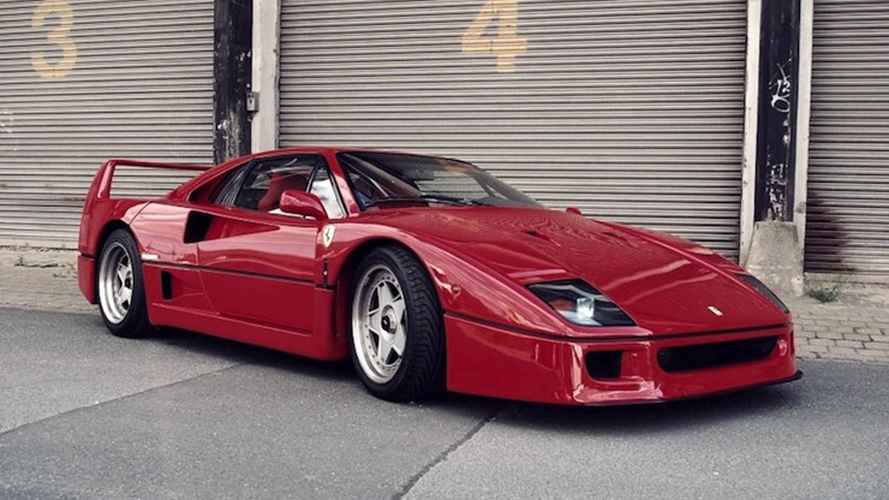 ferrari f40 for sale. Black Bedroom Furniture Sets. Home Design Ideas