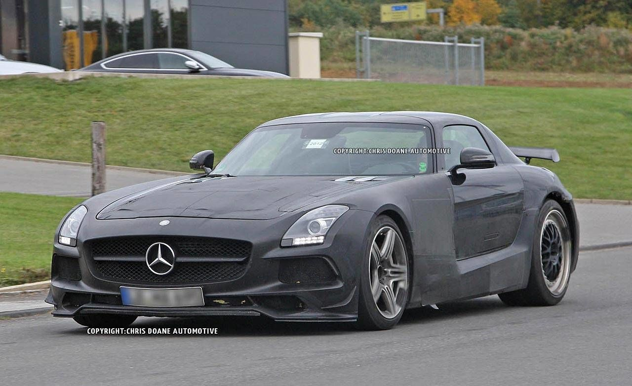 Photos mercedes benz sls black series spy shots for B series mercedes benz
