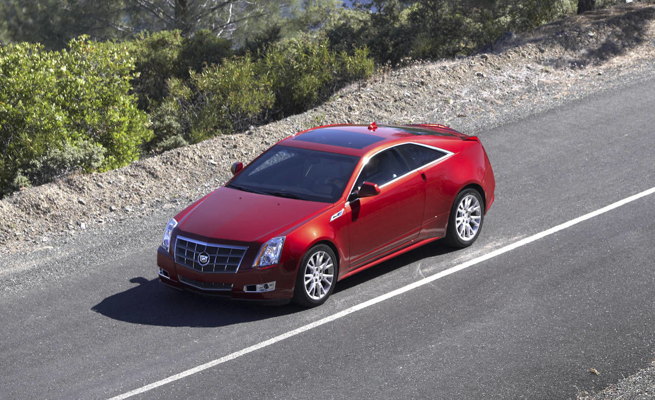 photos 2011 cadillac cts coupe. Black Bedroom Furniture Sets. Home Design Ideas
