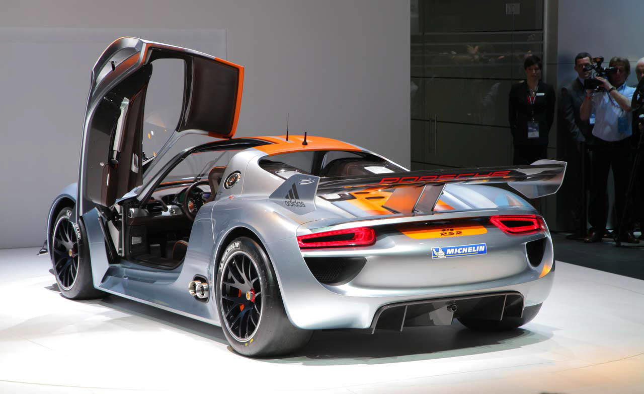 photos porsche 918 rsr concept. Black Bedroom Furniture Sets. Home Design Ideas