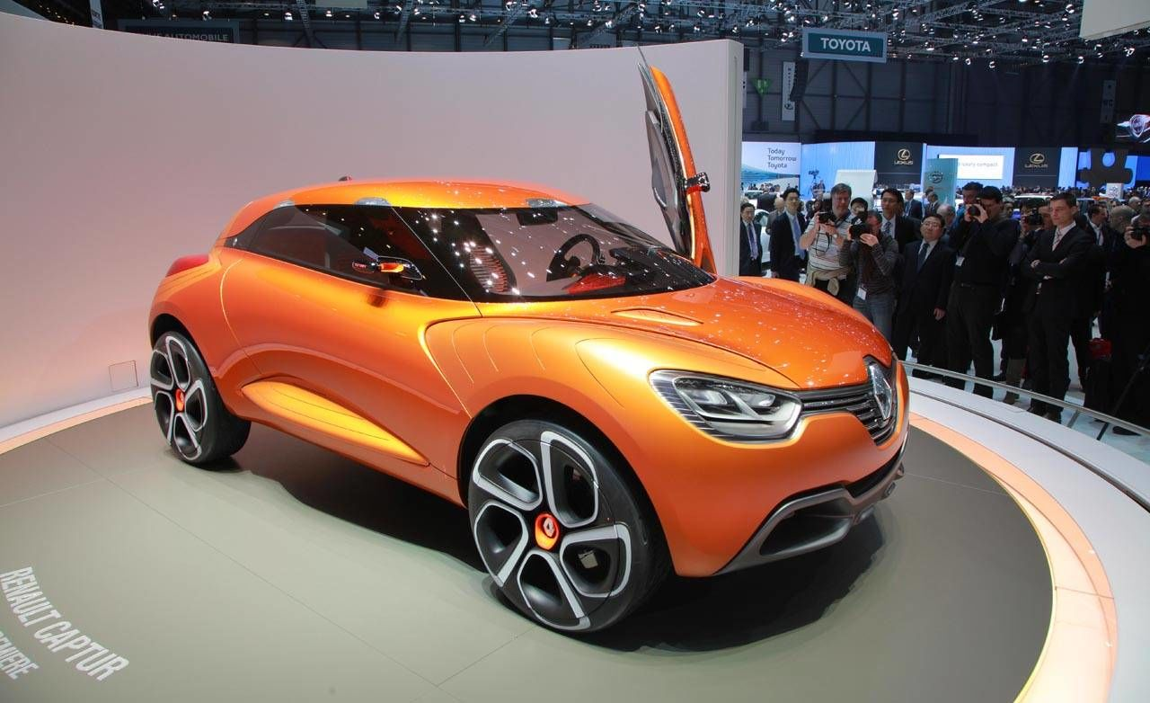 photos renault captur concept. Black Bedroom Furniture Sets. Home Design Ideas