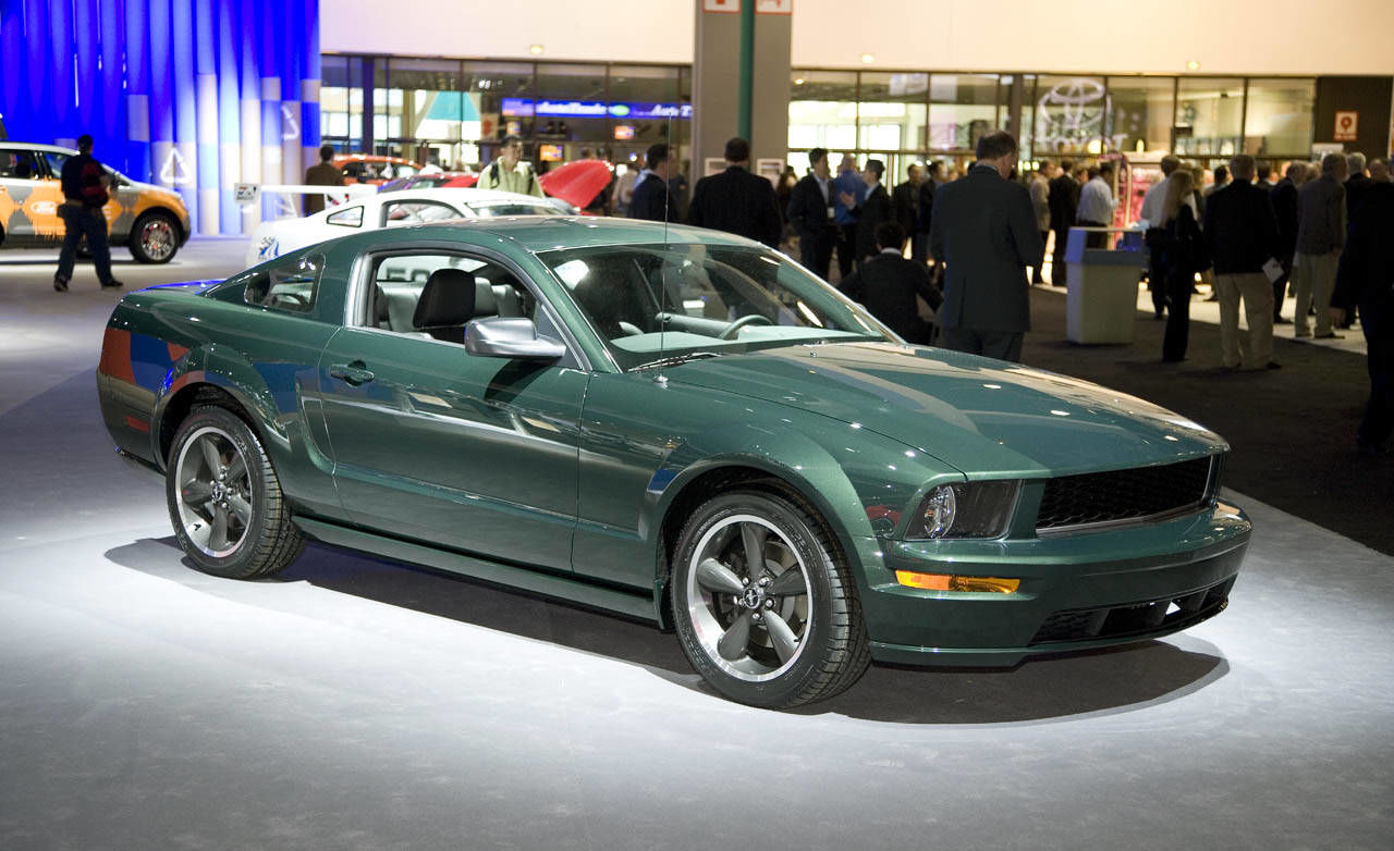 2008 ford bullitt mustang. Black Bedroom Furniture Sets. Home Design Ideas
