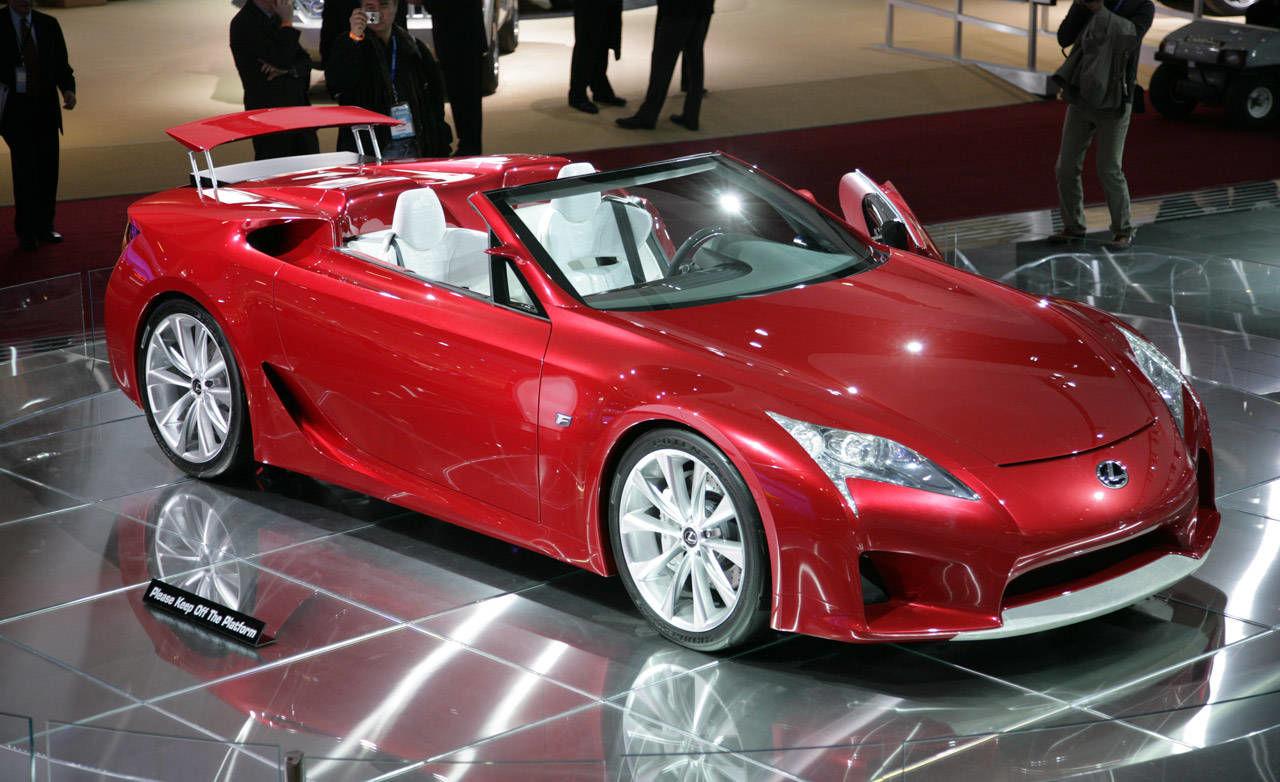 Lexus Lf A Roadster Concept