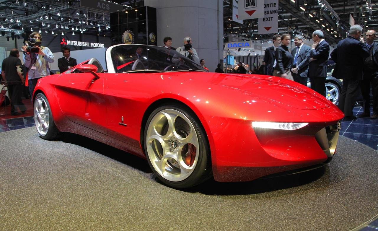 Pininfarina alfa romeo 2uettottanta concept for Garage alfa romeo paris