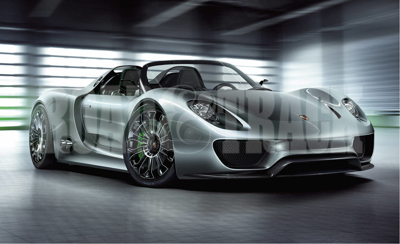 sports cars of the future 2013 porsche 918 spyder - Porsche Spyder 2013