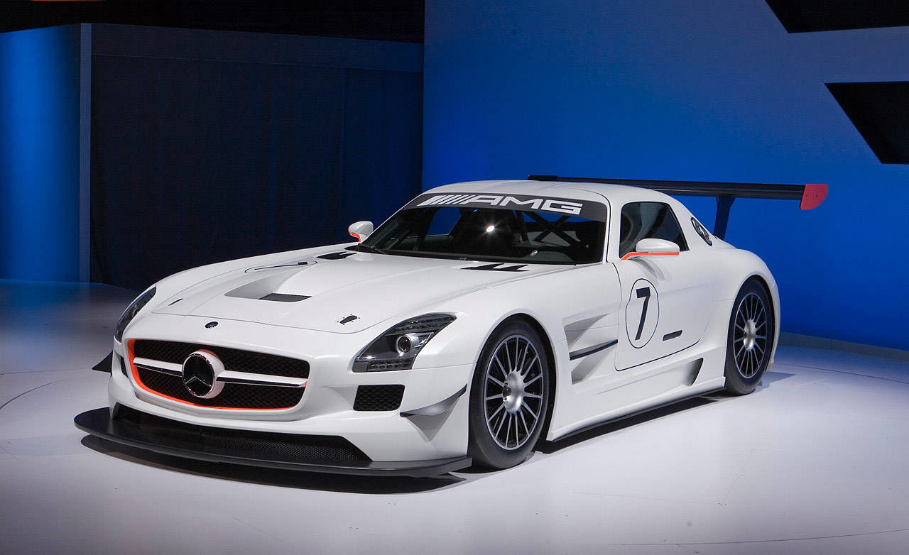video mercedes benz sls amg gt3. Black Bedroom Furniture Sets. Home Design Ideas