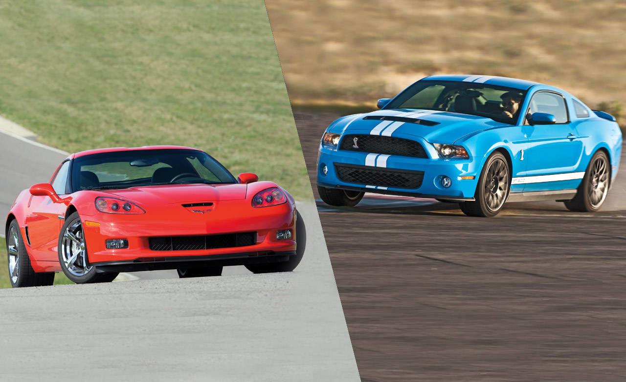 2010 chevrolet corvette grand sport vs 2011 ford shelby gt500 performance car road test. Black Bedroom Furniture Sets. Home Design Ideas