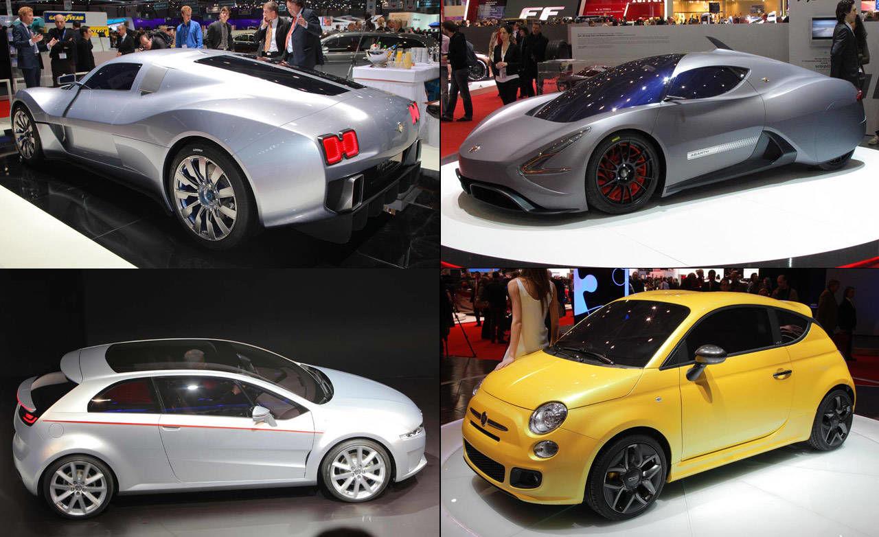 New concept cars best italian car concepts at 2011 geneva auto show - Car design show ...