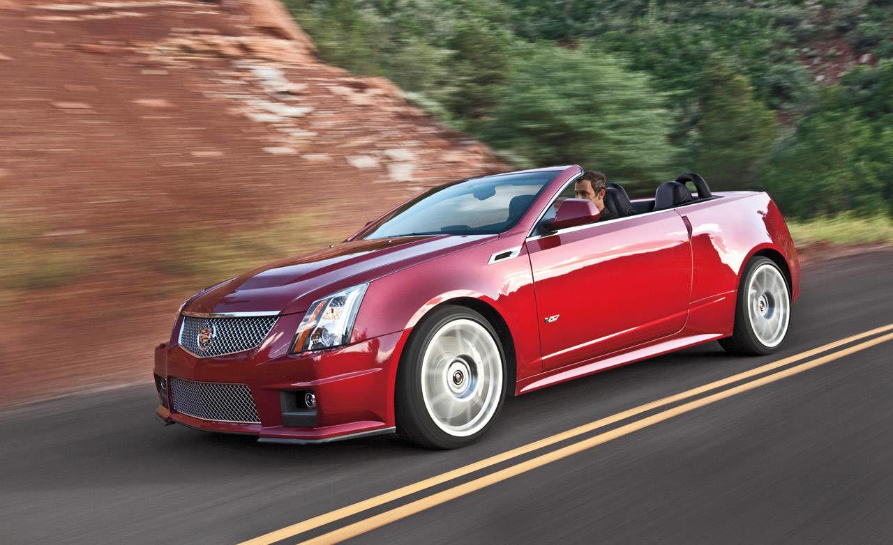 Cadillac Cts V Convertible Coup Sedan Wagon First Look
