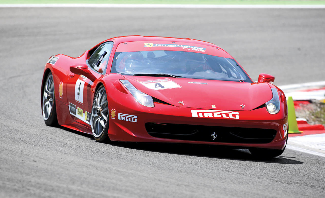 ferrari 458 challenge ferrari 458 challenge first drive by steve millen. Black Bedroom Furniture Sets. Home Design Ideas
