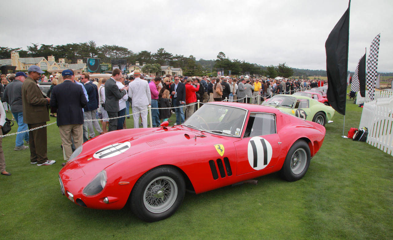Pebble Beach Car Show >> 1962 Ferrari 250 GTO – 50th Anniversary at Pebble Beach Concours d'Elegance – RoadandTrack.com
