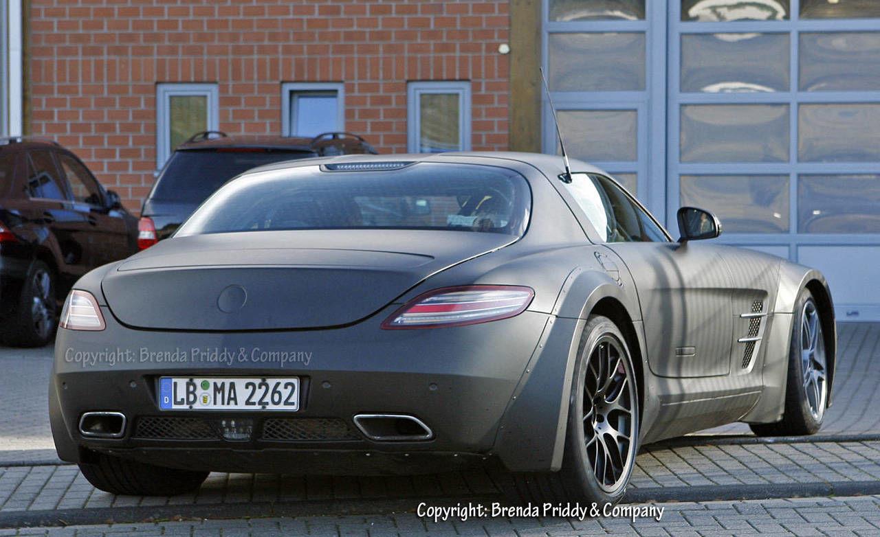2012 mercedes benz sls amg black edition spy photos for Mercedes benz black edition