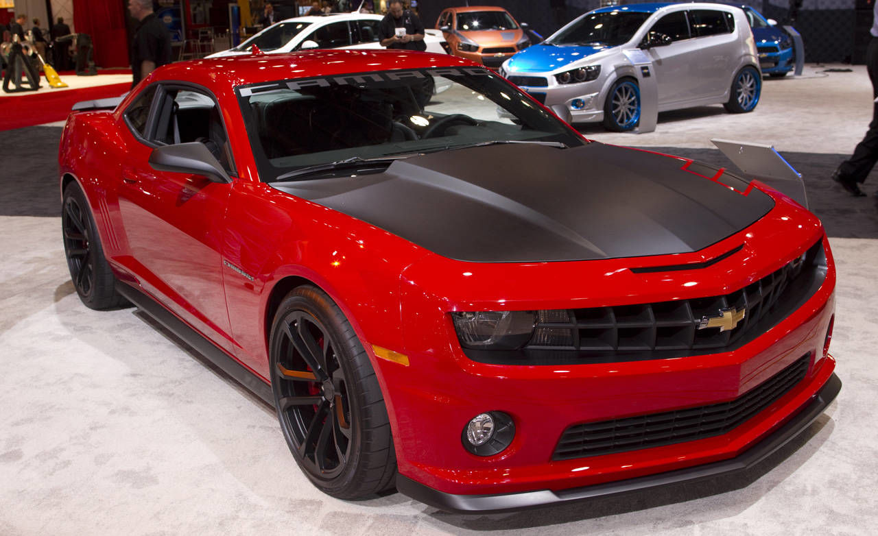 Chevrolet Camaro Concept Cars At 2011 Sema Show Zl1