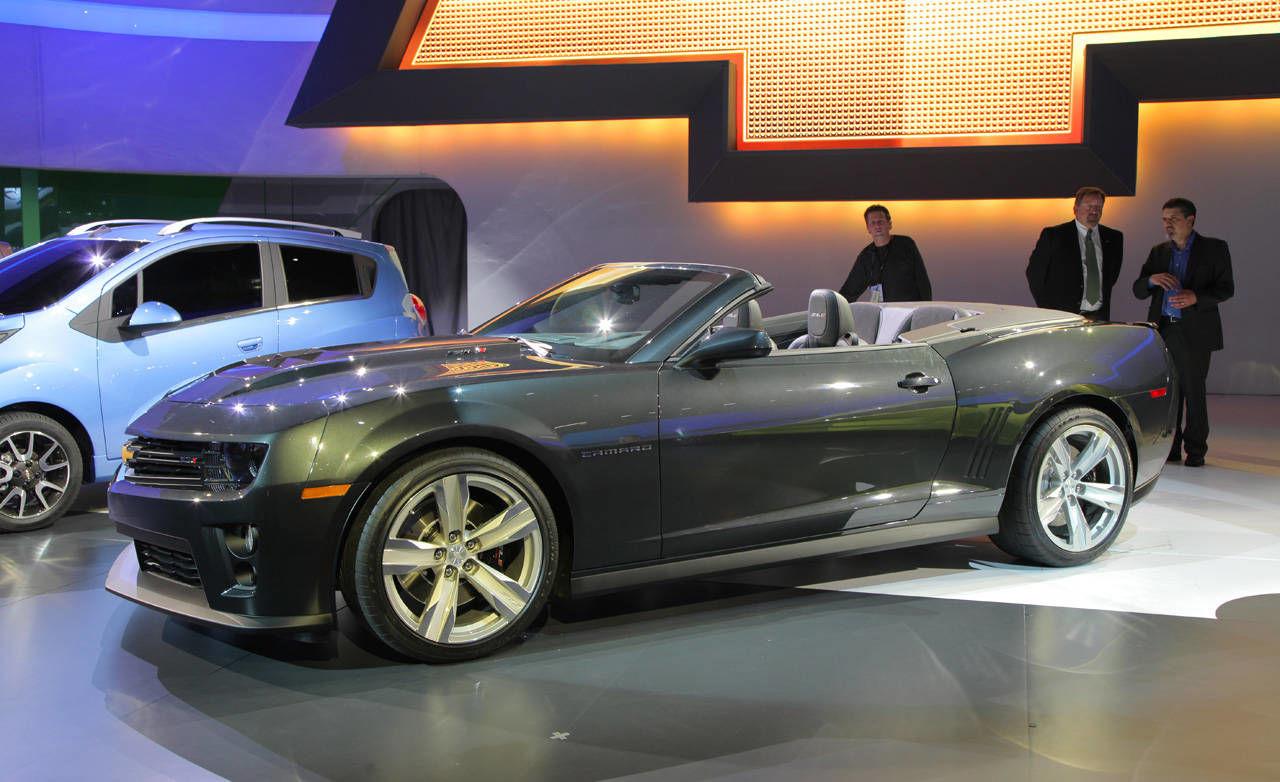 2013 Chevrolet Camaro Zl1convertible Zl1 Specs Price