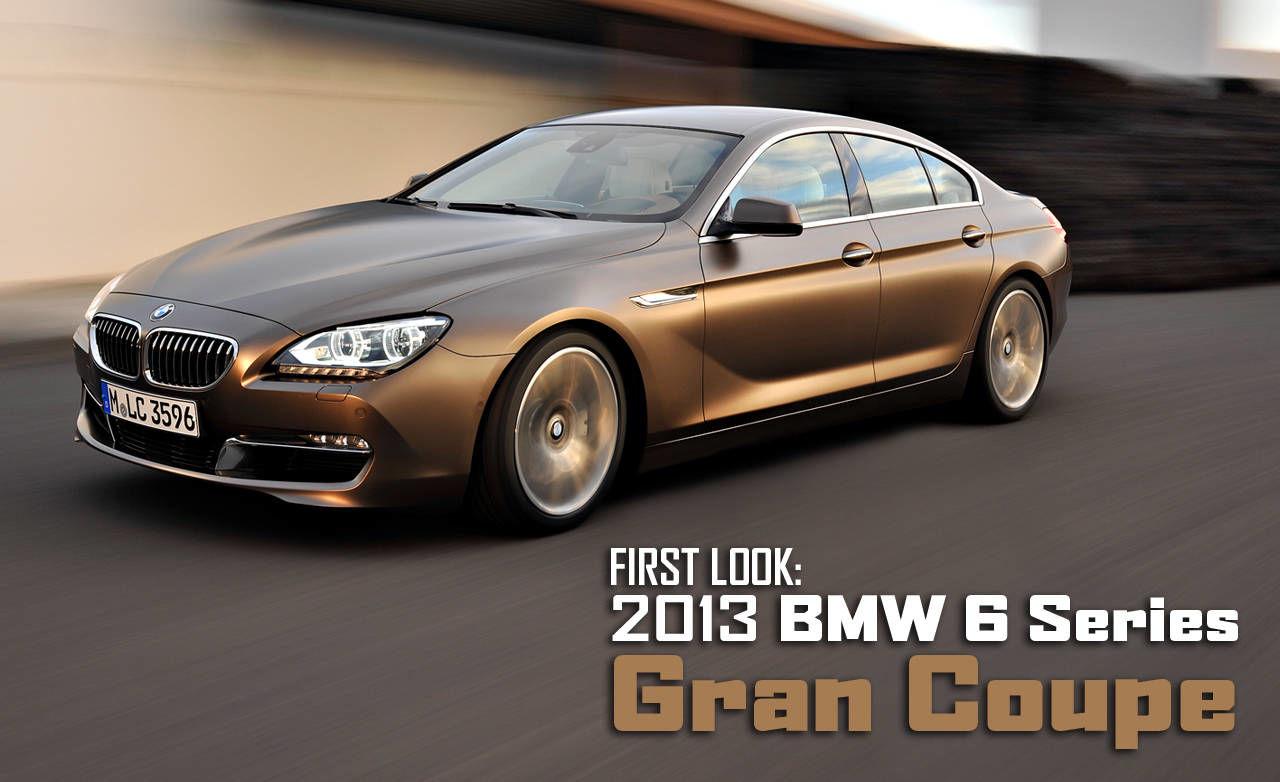 2013 bmw 6 series gran coupe new bmw 6 series sedan. Black Bedroom Furniture Sets. Home Design Ideas