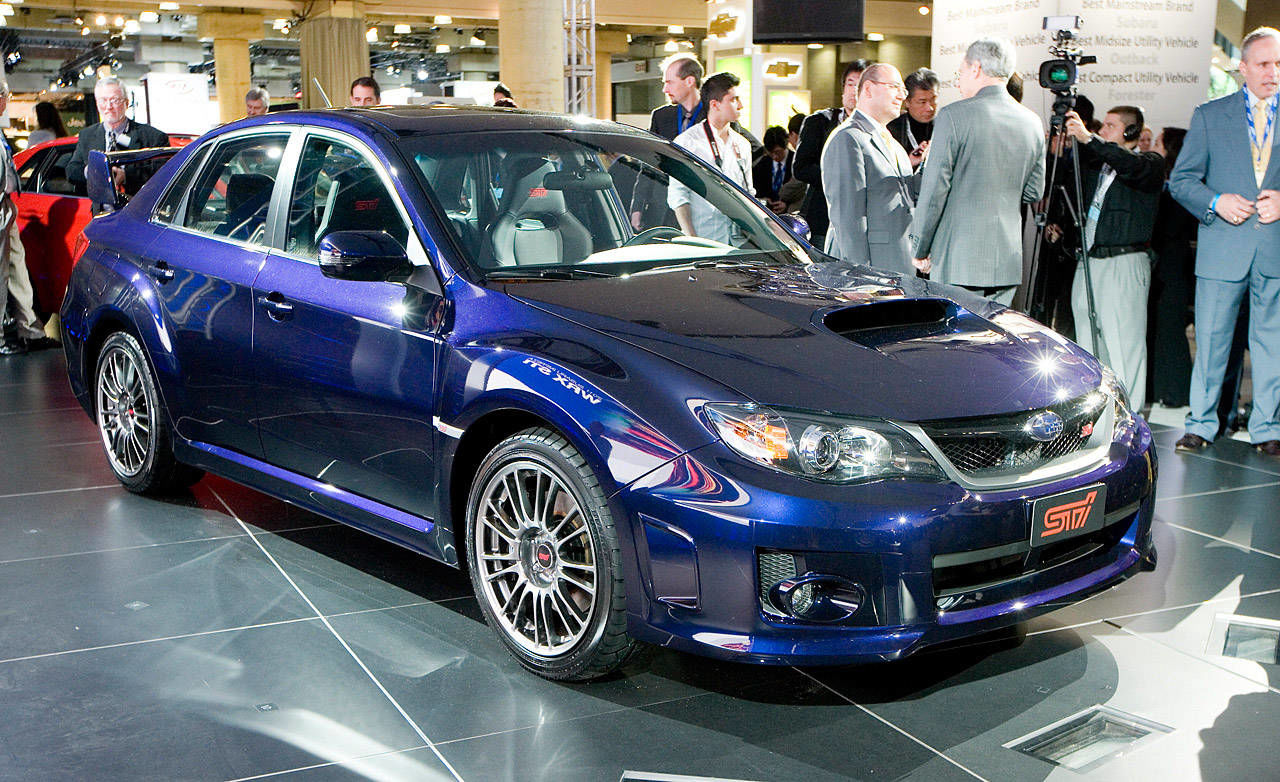 photos 2011 subaru impreza wrx sti sedan. Black Bedroom Furniture Sets. Home Design Ideas