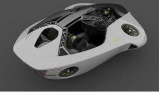 Honda Hovering Concept Car