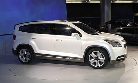 Photos: Chevrolet Orlando Concept - Slide 2