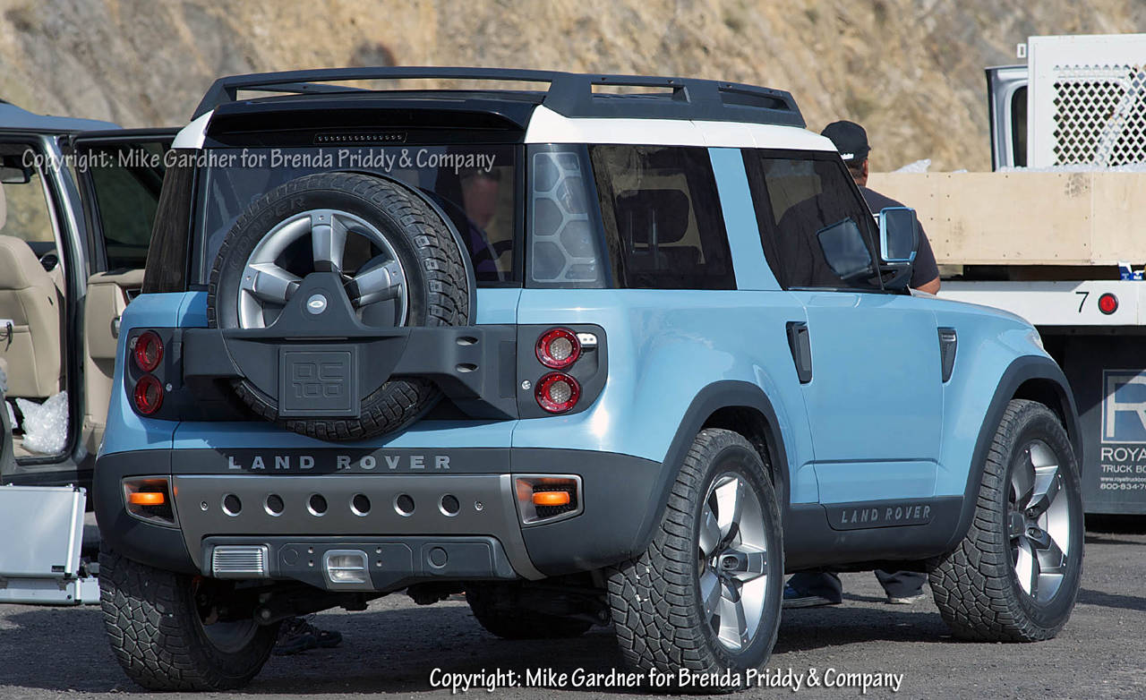 New Land Rover Defender Spy Shots Autos Post