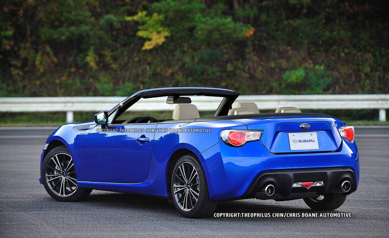 Photos: 2014 Subaru BRZ Convertible