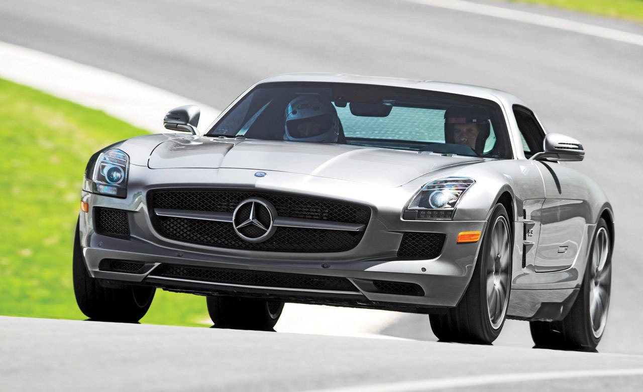 photos 2011 mercedes benz sls amg. Black Bedroom Furniture Sets. Home Design Ideas