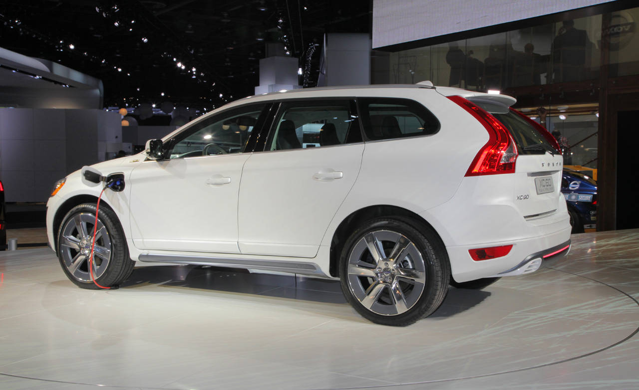 photos volvo xc60 plug in hybrid concept. Black Bedroom Furniture Sets. Home Design Ideas