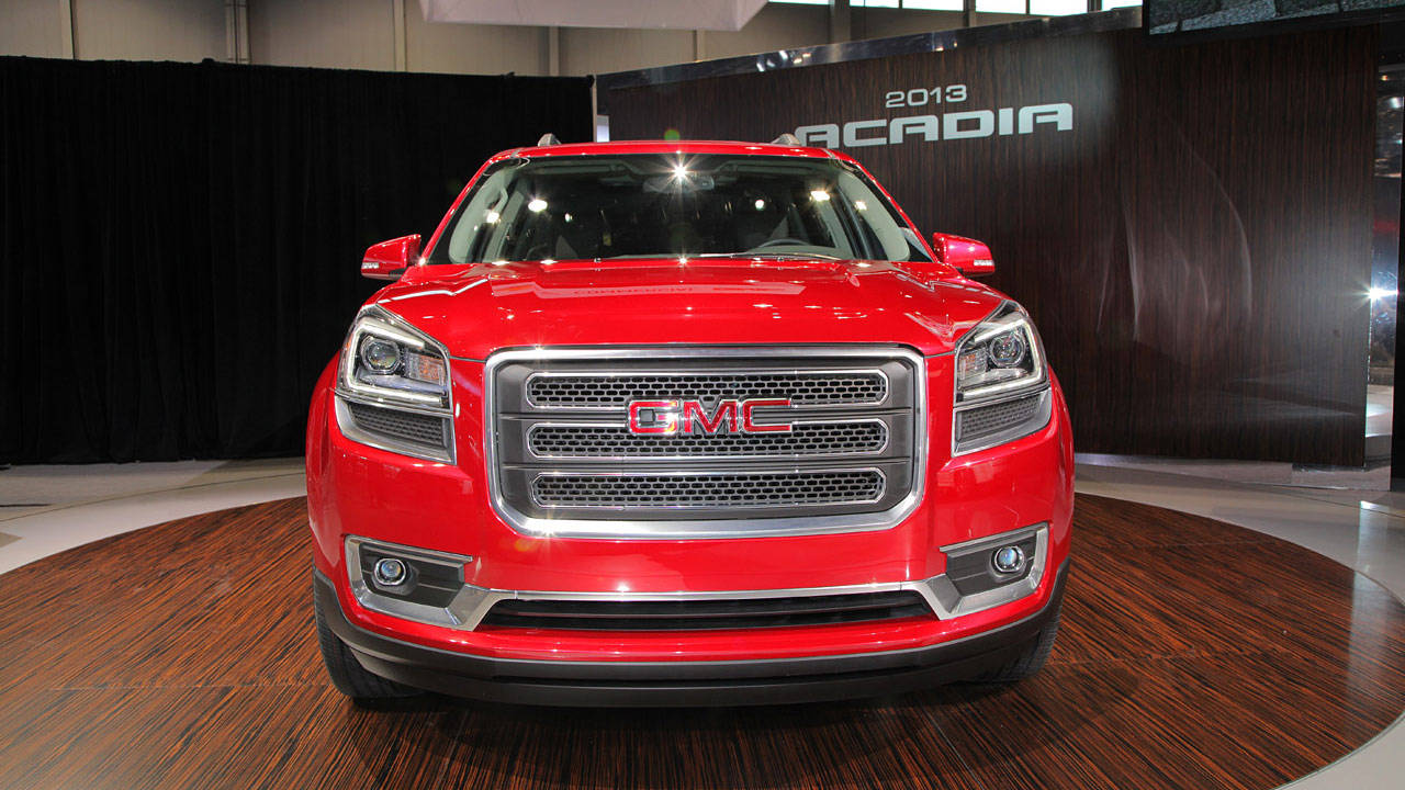 photos 2013 gmc acadia. Black Bedroom Furniture Sets. Home Design Ideas