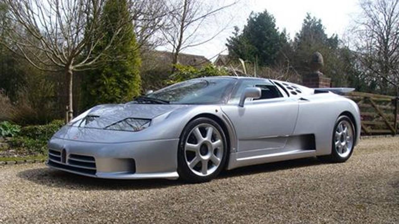World's Only Bugatti EB110 SS by Brabus For Sale - Bugatti ...