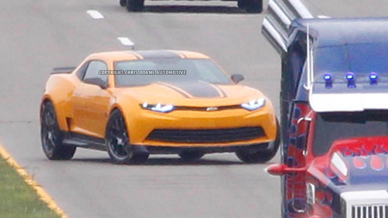 "Spy Photos: 2014 Transformers ""Bumblebee"" Camaro - New ..."