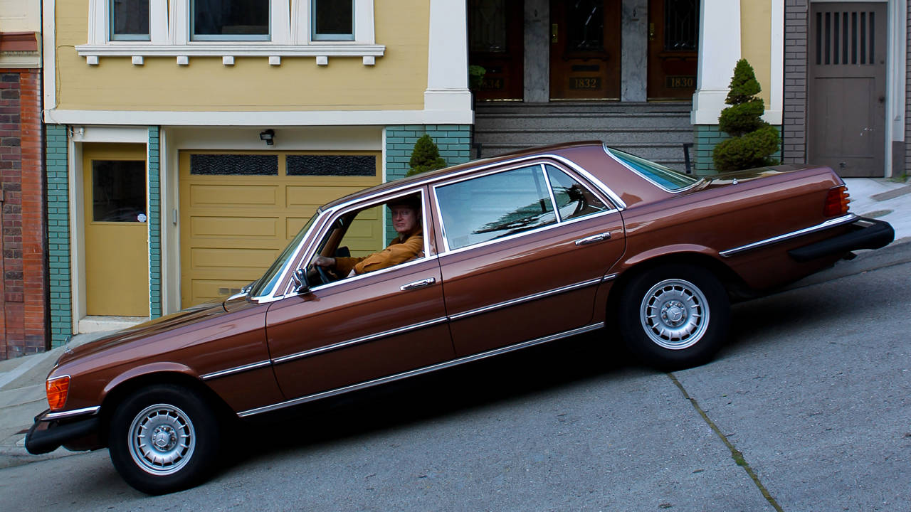 1977 mercedes benz 450sel 6 9 daily driver for peter lace. Black Bedroom Furniture Sets. Home Design Ideas