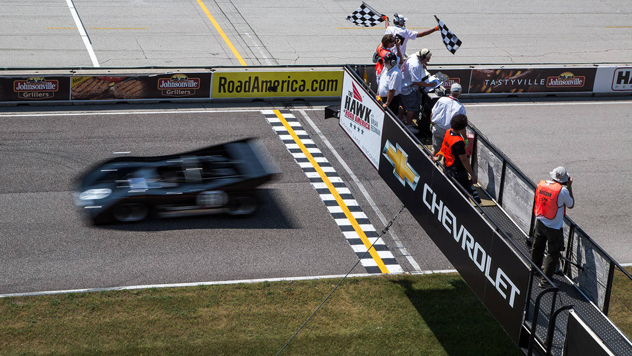 Can Am Cars Race At Road America Vintage Racers At The